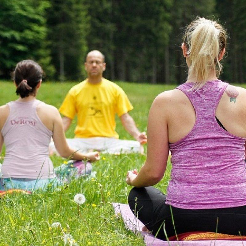 Lezioni di yoga a Pinzolo